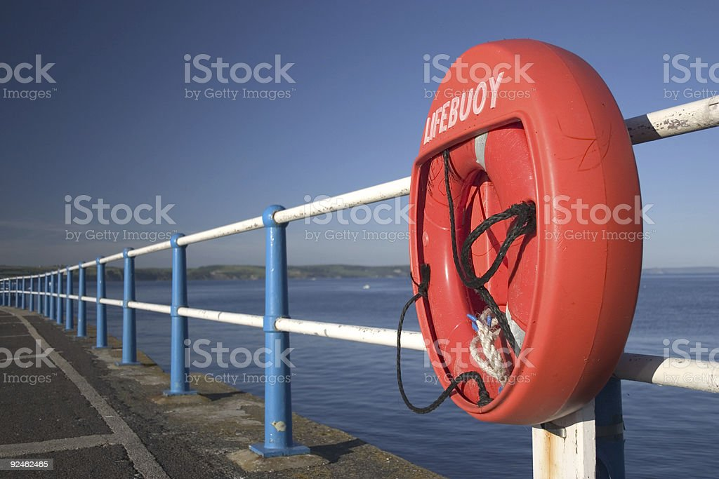 Lifebuoy royalty-free stock photo