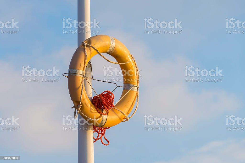 Lifeguard float. stock photo