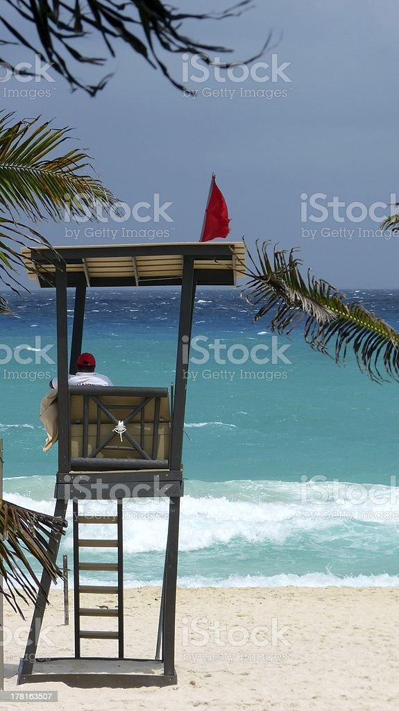 Lifeguard stock photo