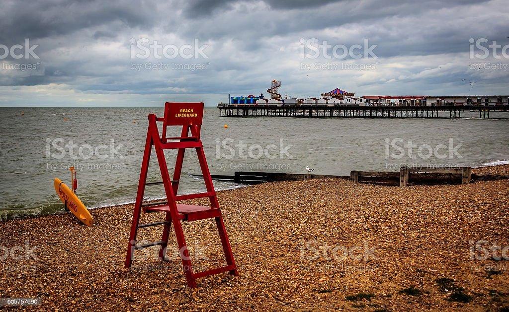 Lifeguard. stock photo