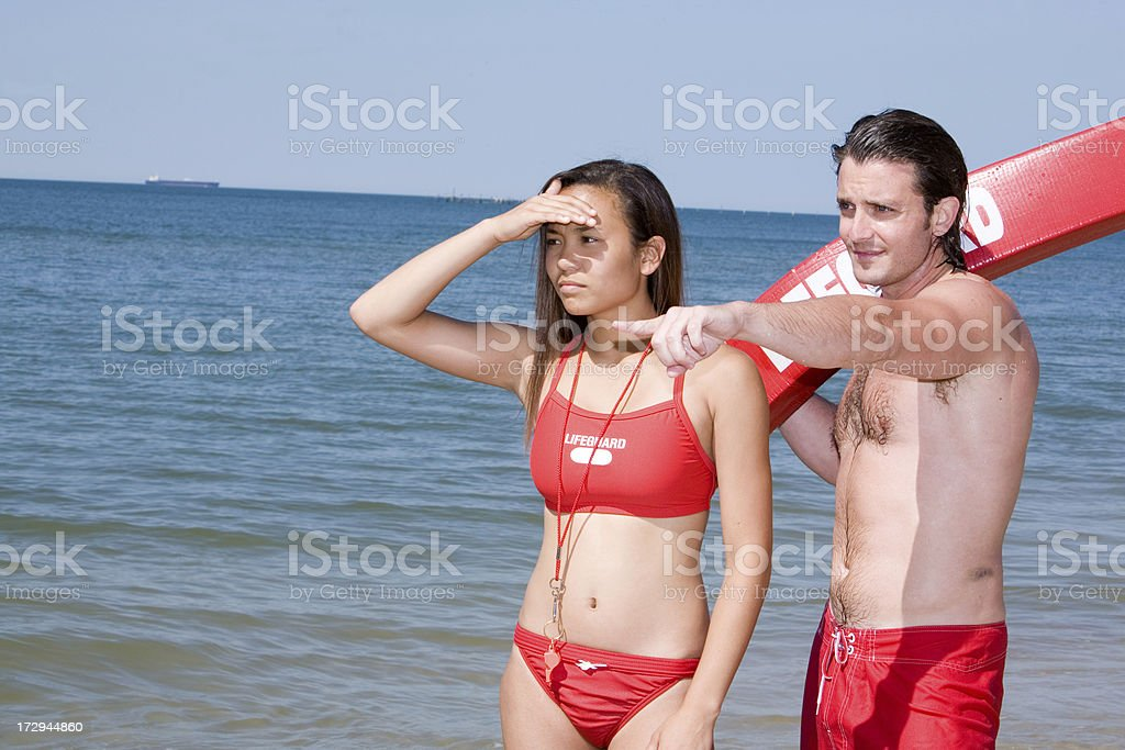 Lifeguard Series royalty-free stock photo