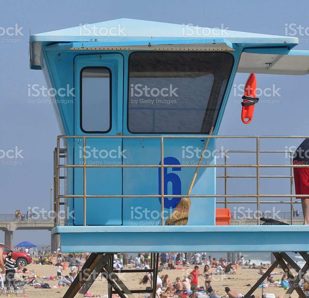 Huntington beach california stock photos and pictures getty images - Lifeguard Tower In Huntington Beach California Royalty Free Stock Photo
