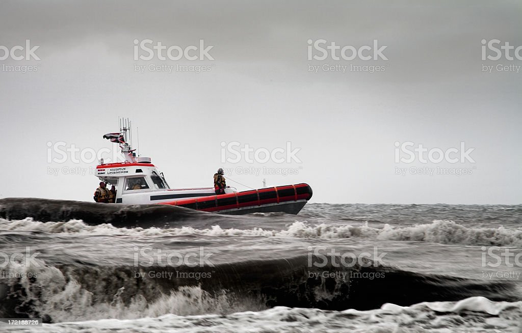 Lifeguards to the rescue! royalty-free stock photo