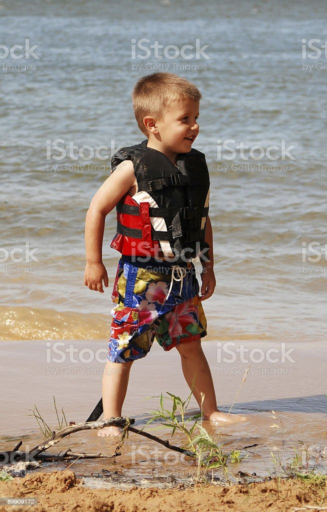 Lifejacket royalty-free stock photo