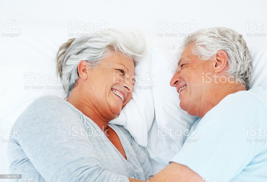 A life-long love story stock photo
