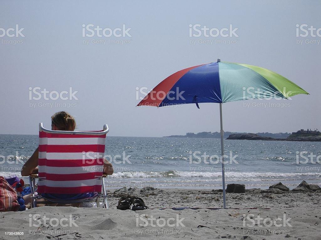 Life's A Beach royalty-free stock photo