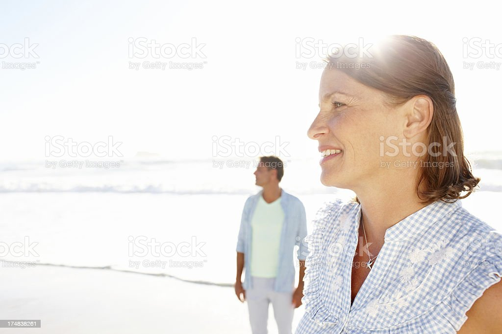 Life's a beautiful journey royalty-free stock photo