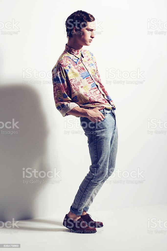 Life's too short to wear boring clothes stock photo