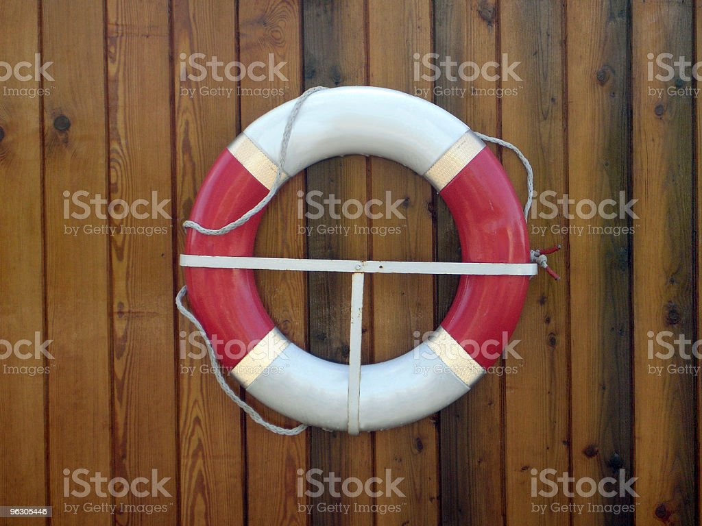 Lifesaver royalty-free stock photo