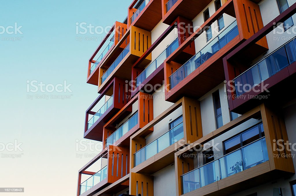 Lifestyle Apartments stock photo