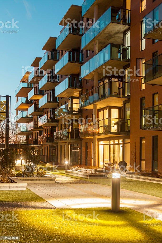 lifestyle apartments stock photo