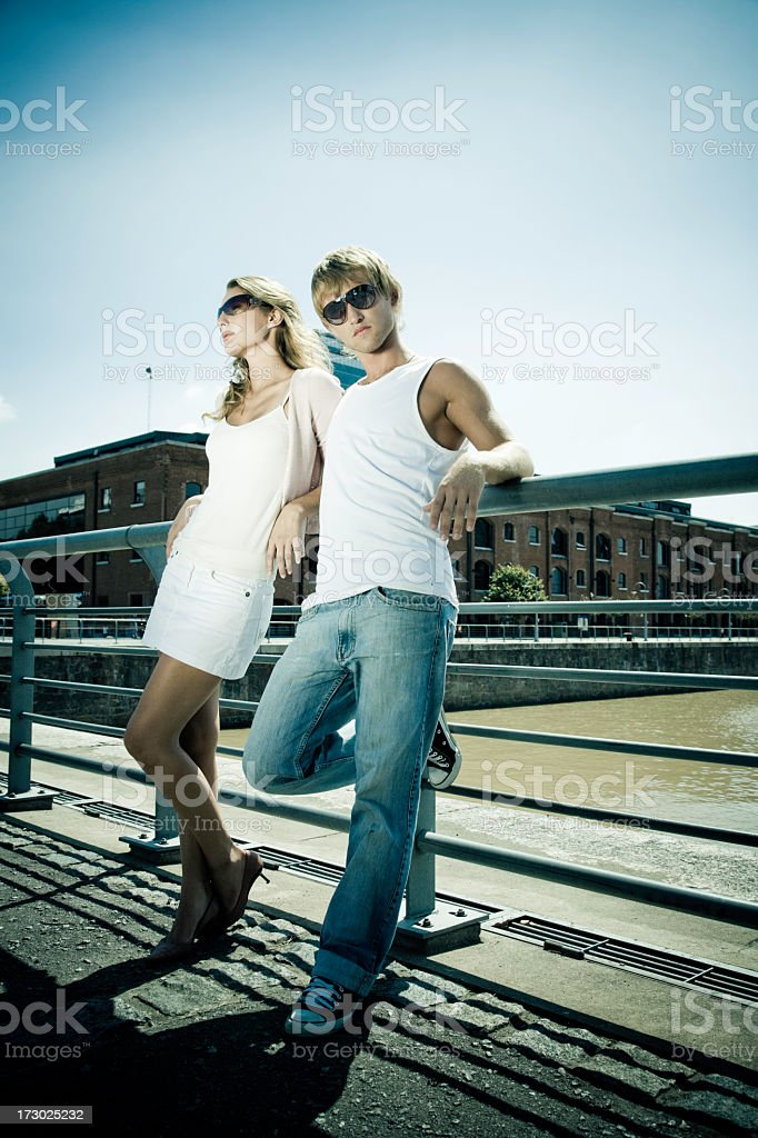 Lifestyle Couple royalty-free stock photo