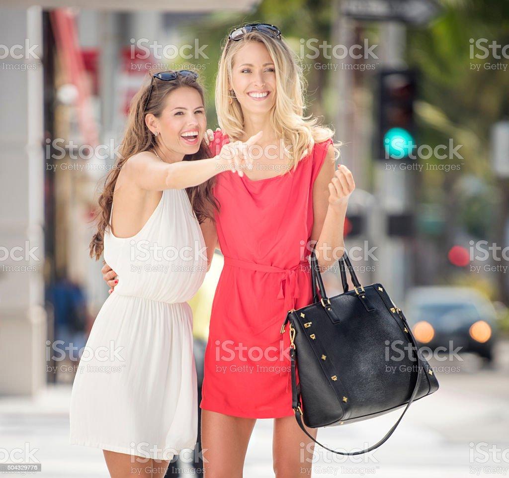 Lifestyle, Female Friends Leisure stock photo