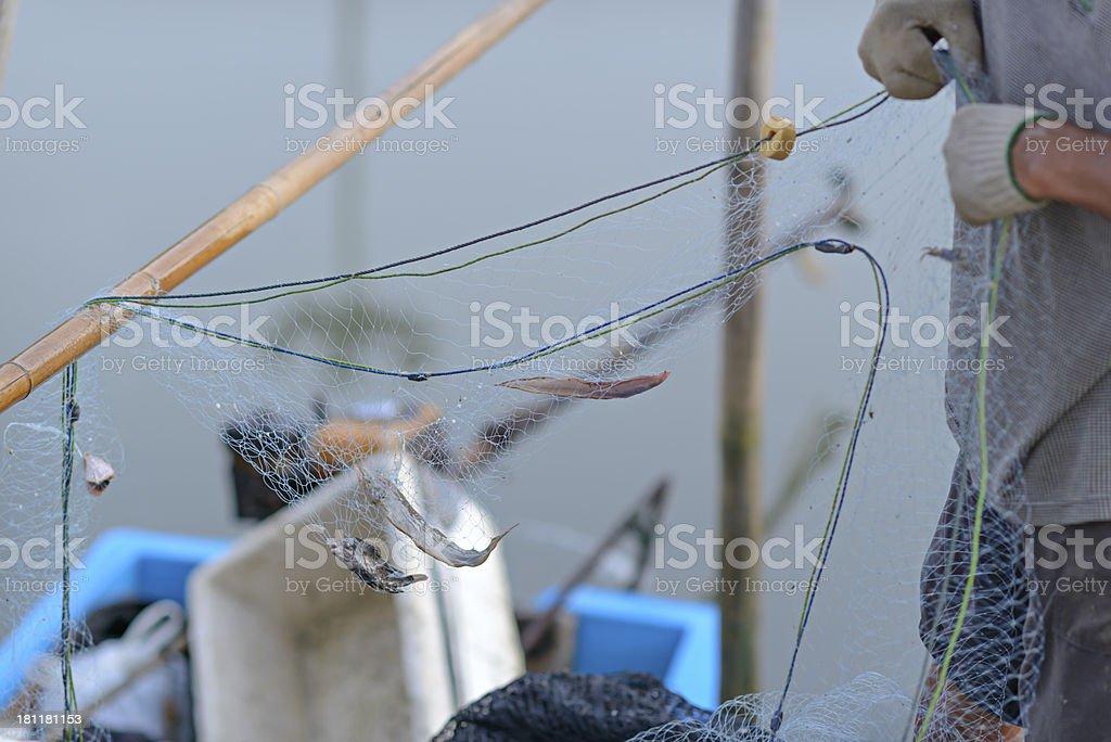 Lifestyle Fisherman royalty-free stock photo