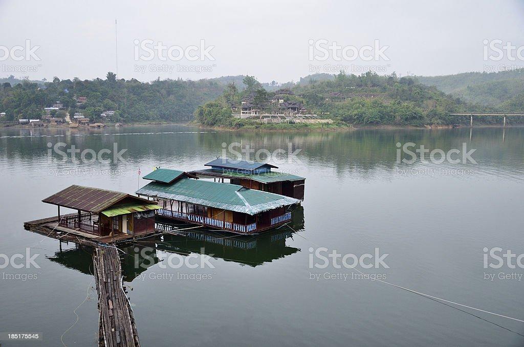 Lifestyle  Mon, waterfront home royalty-free stock photo
