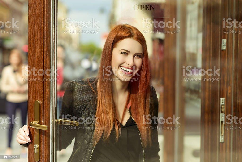 lifestyle woman portrait stock photo