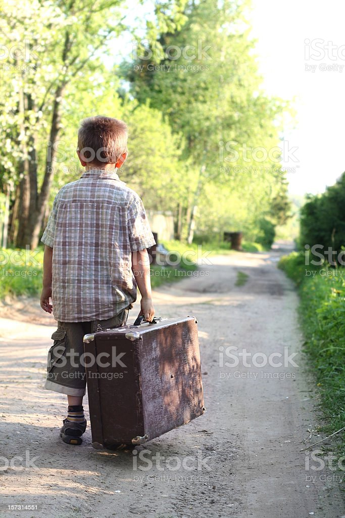 Lifetime journey starts with the first step royalty-free stock photo