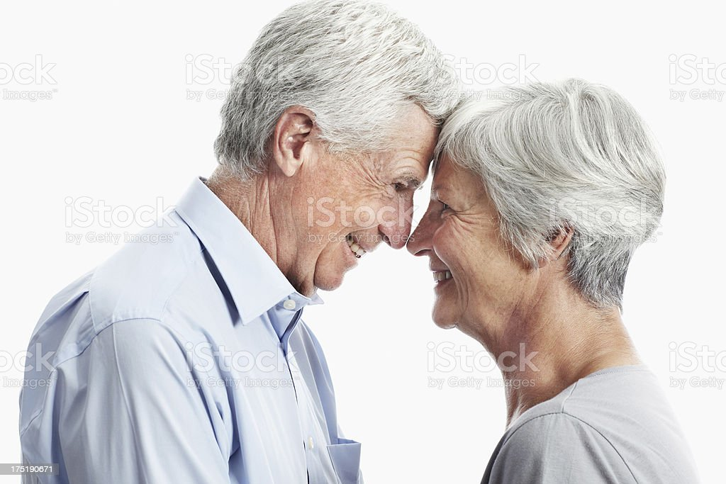 Lifetimes shared together stock photo