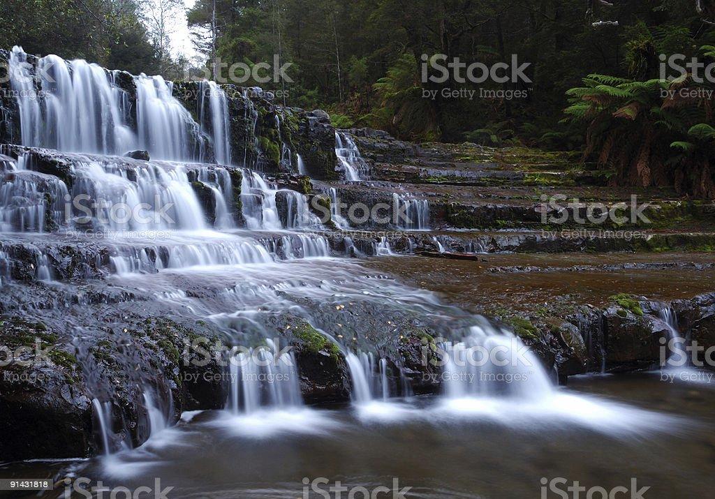 liffy falls stock photo