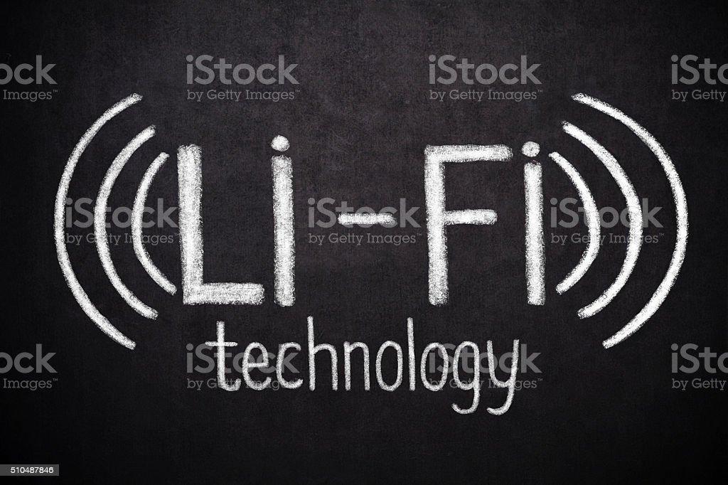 Li-Fi Technology stock photo