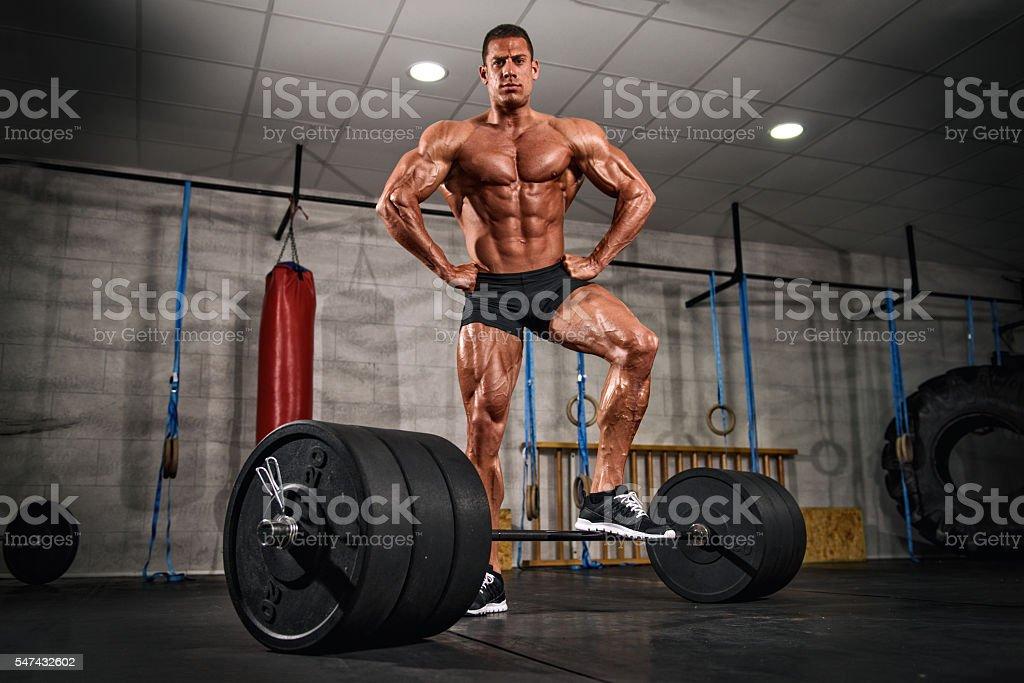 Lift Big To Become Big stock photo
