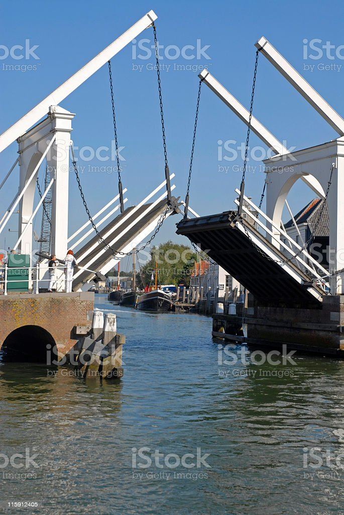 Lift bridge royalty-free stock photo