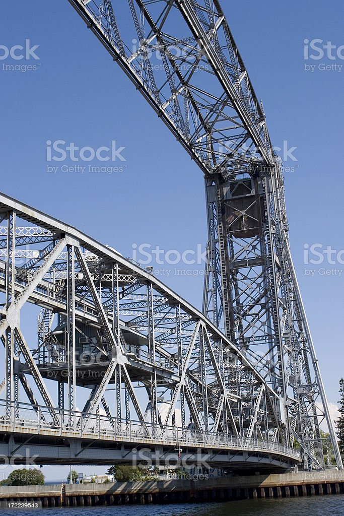 Lift Bridge royalty-free stock photo