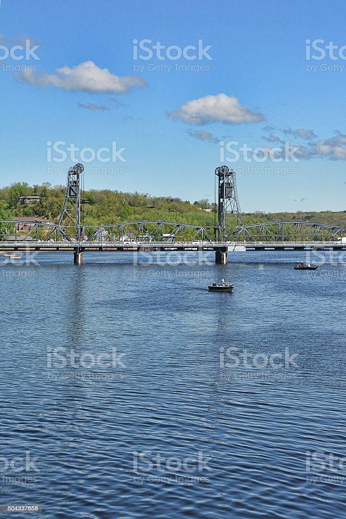 Lift Bridge stock photo