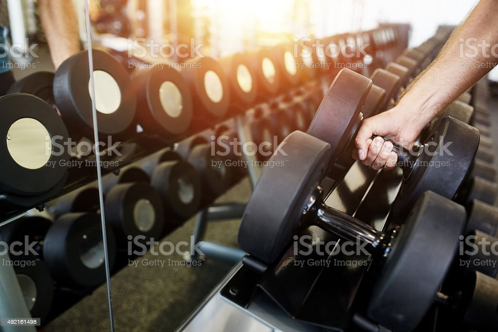 Lift 'em or leave 'em stock photo