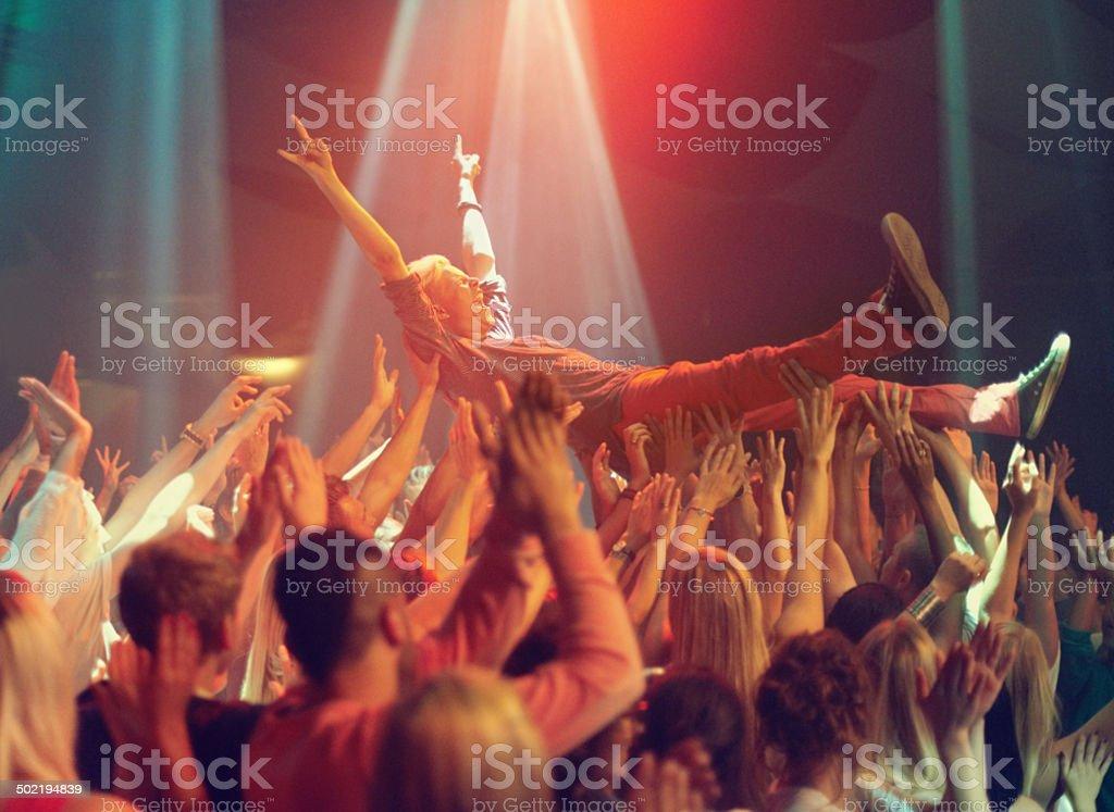 Lift me higher! stock photo