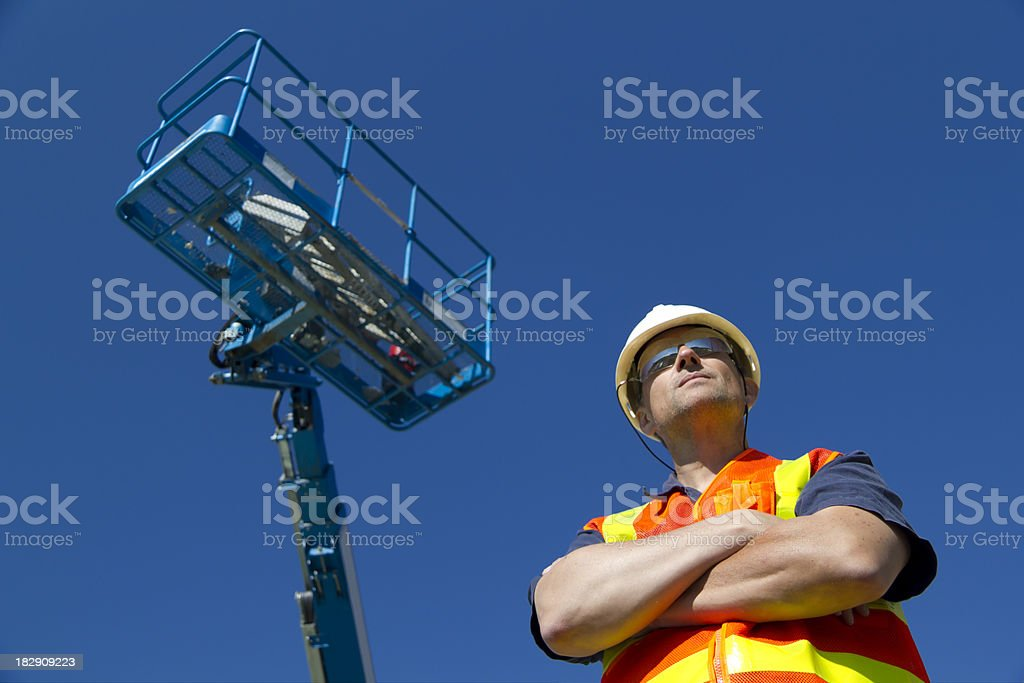 Lift Operator royalty-free stock photo