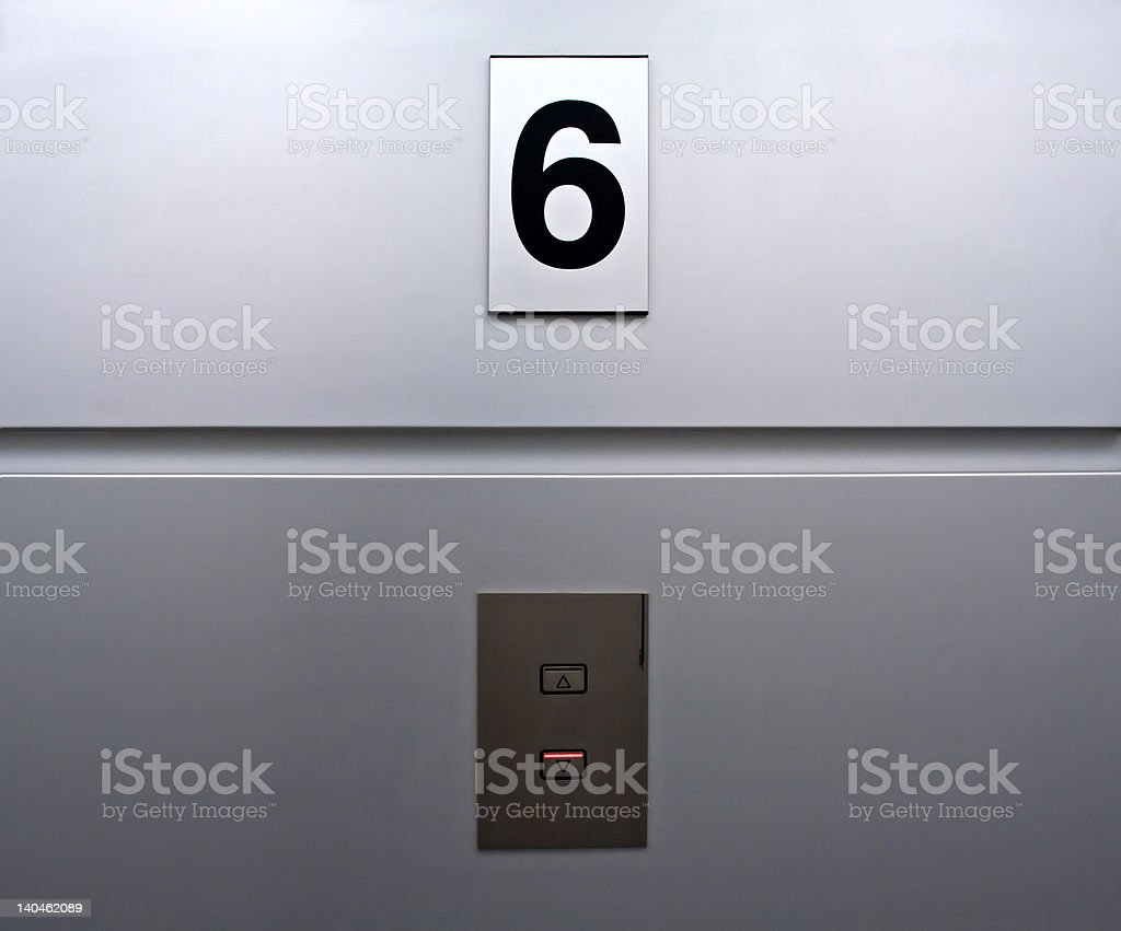 Lift panel royalty-free stock photo
