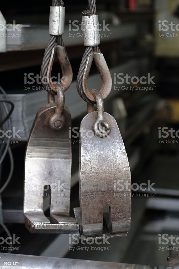 Lifting iron tool stock photo
