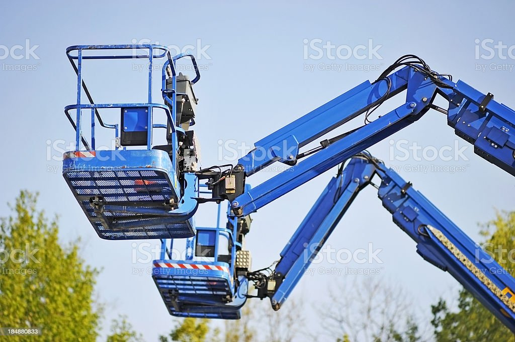 lifting platform stock photo