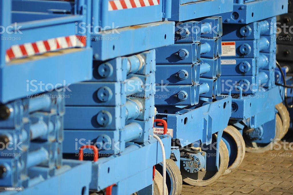 lifting platform royalty-free stock photo