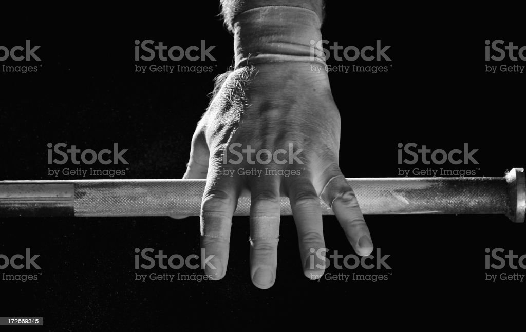 Lifting the Bar royalty-free stock photo