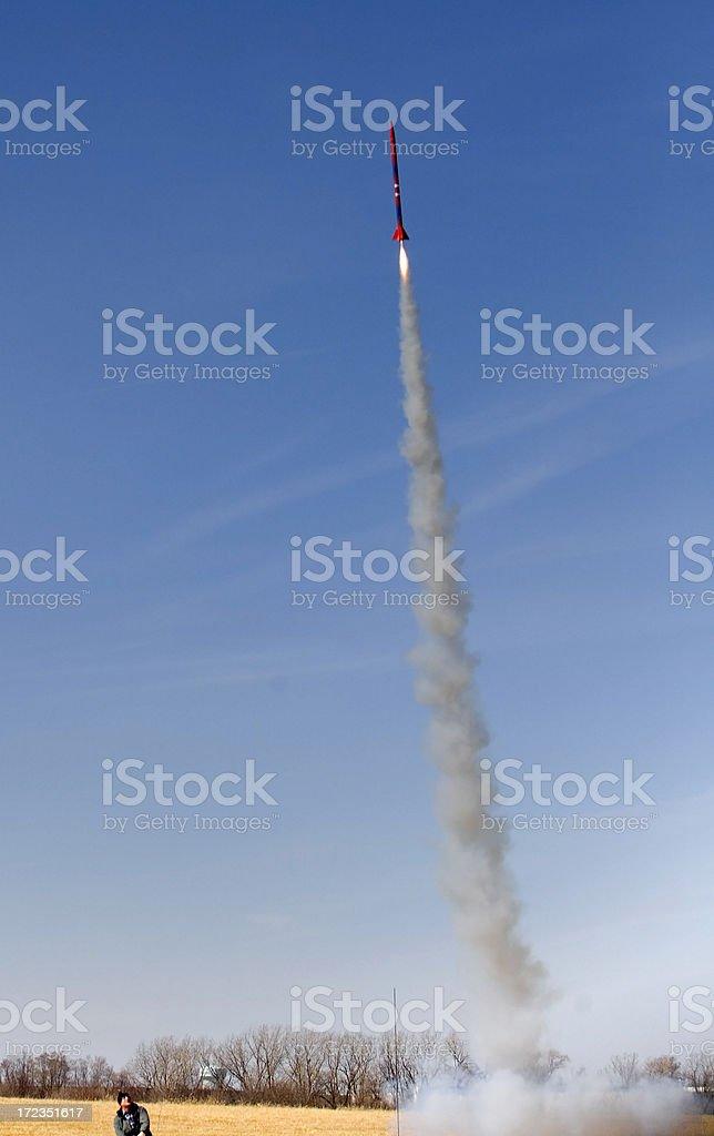liftoff! royalty-free stock photo