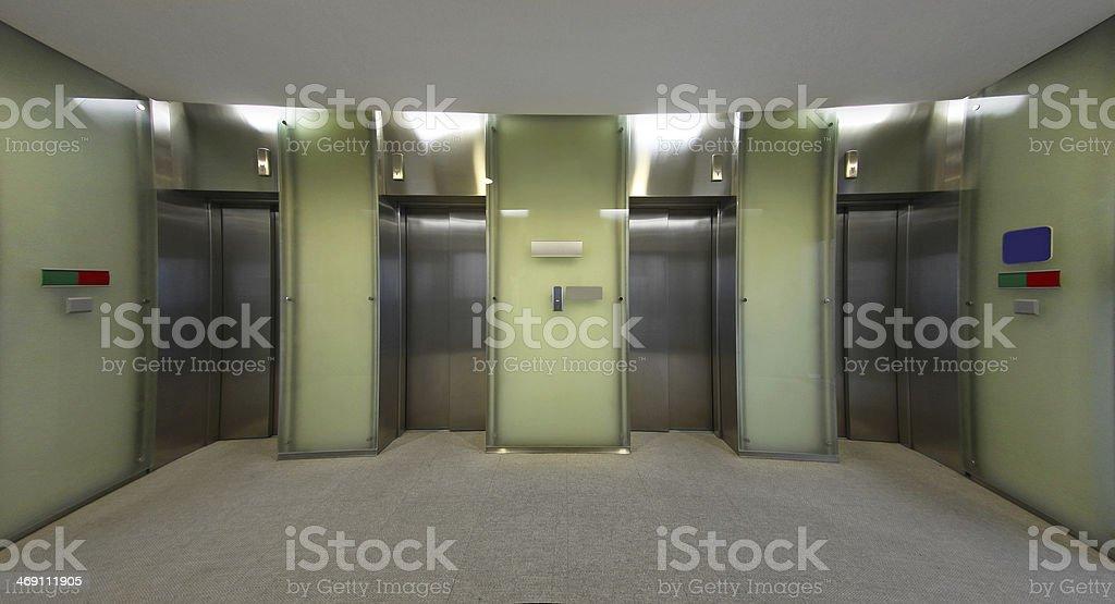 Lifts stock photo