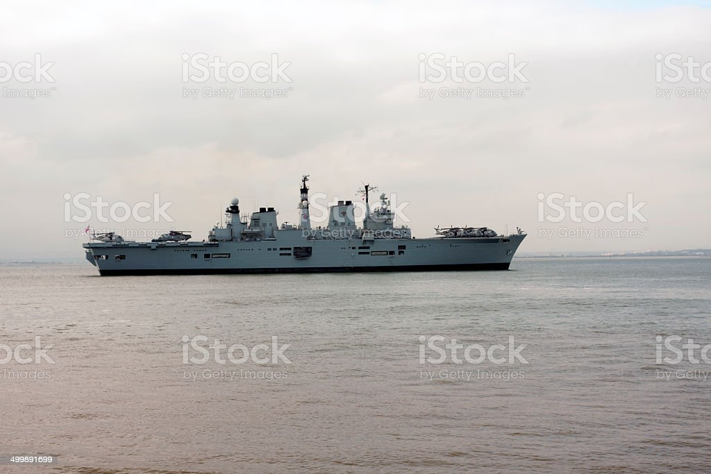 Light Aircraft Carrier stock photo