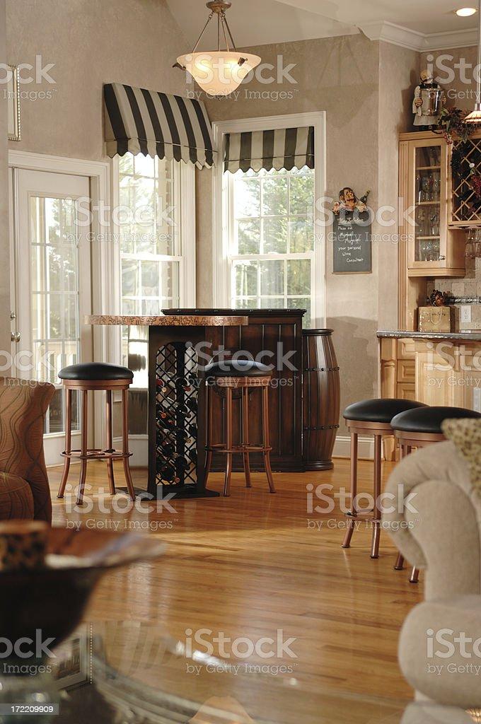 Light & Airy Kitchen royalty-free stock photo