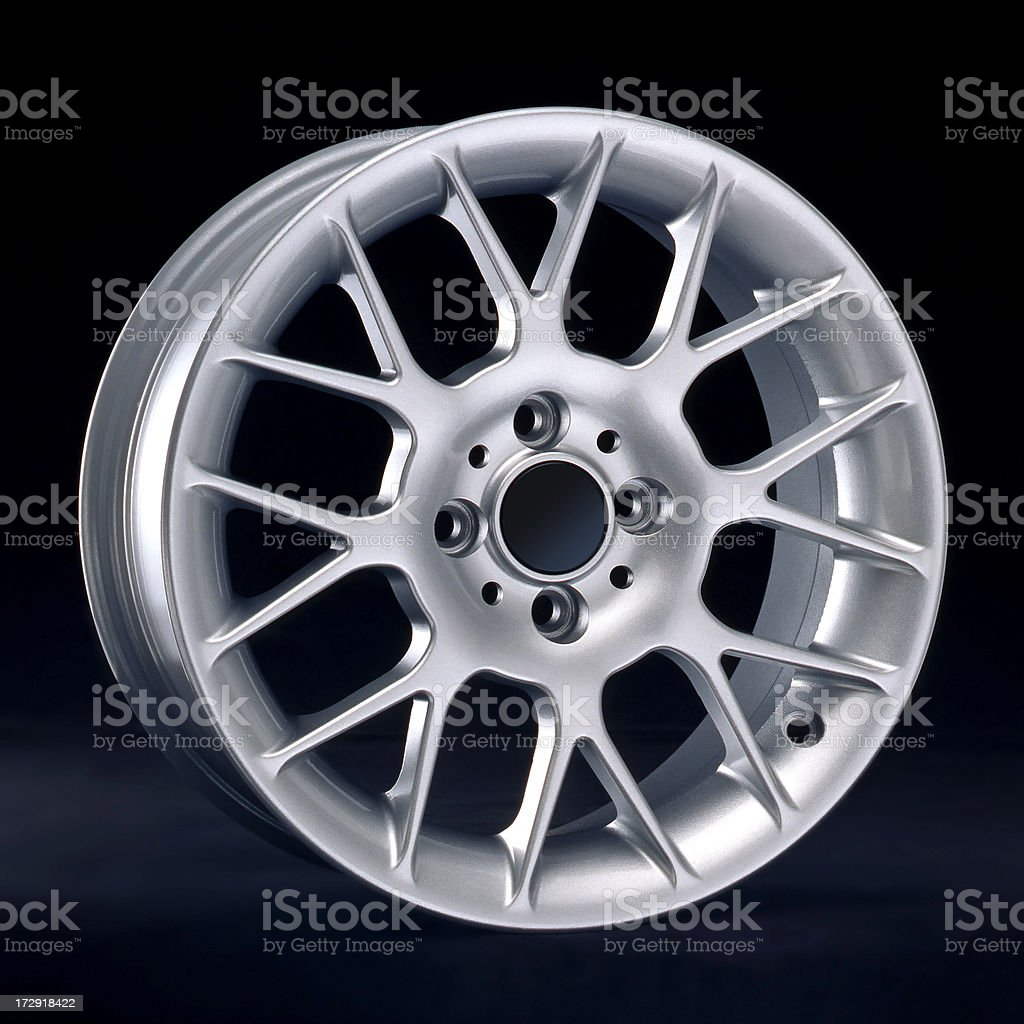 Light alloy rim royalty-free stock photo
