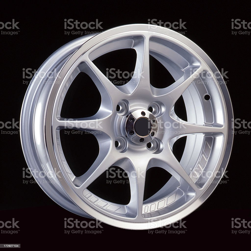 Light alloy rim royalty-free stock photo