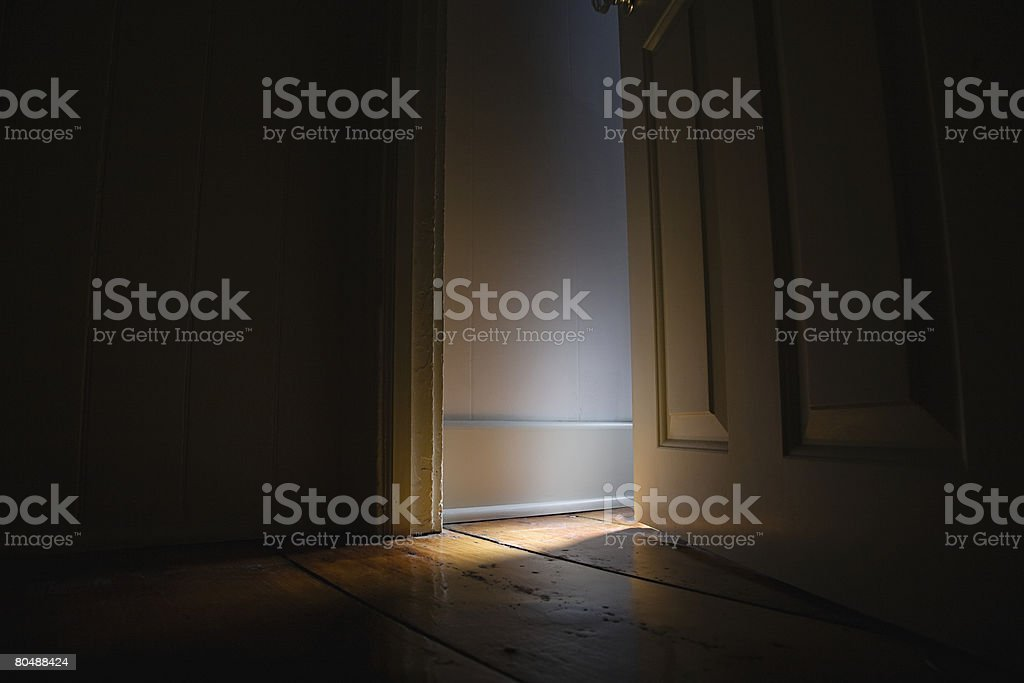 Light and dark stock photo