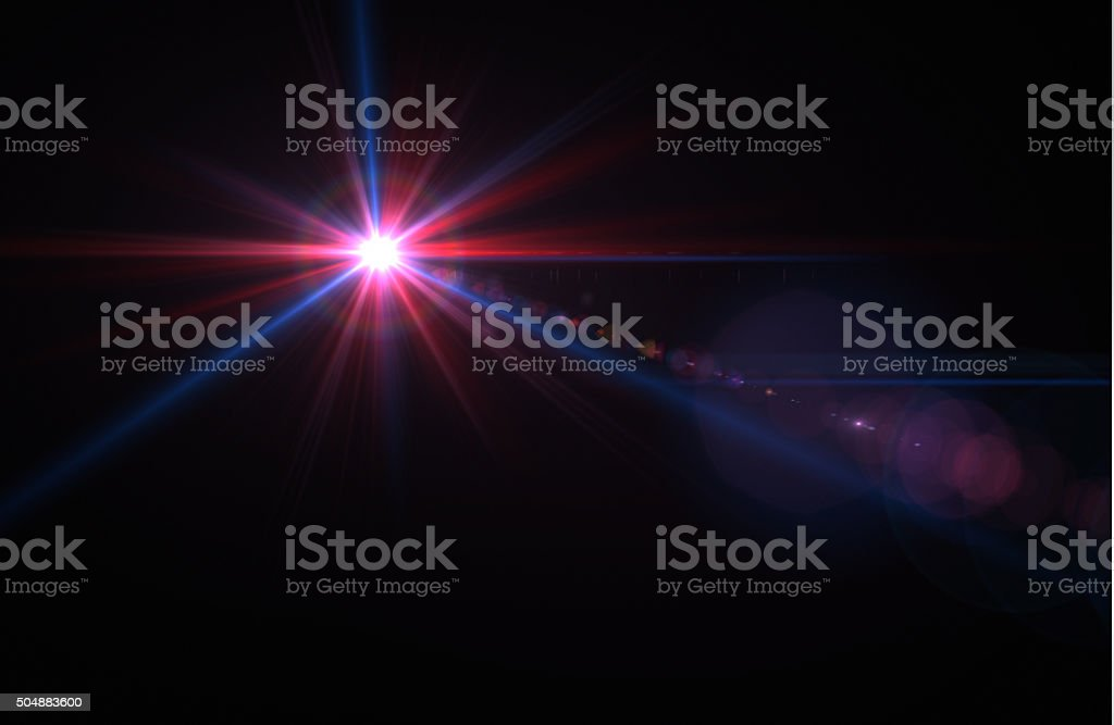 Light and Lens Flare stock photo