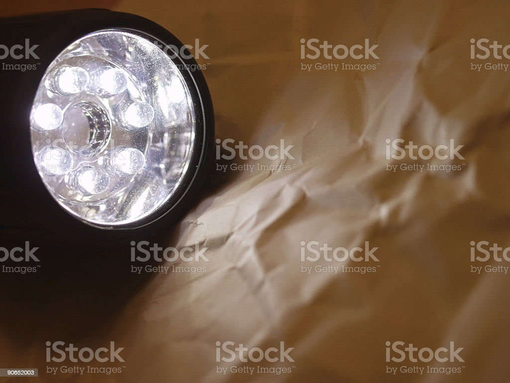 Light And Paper royalty-free stock photo