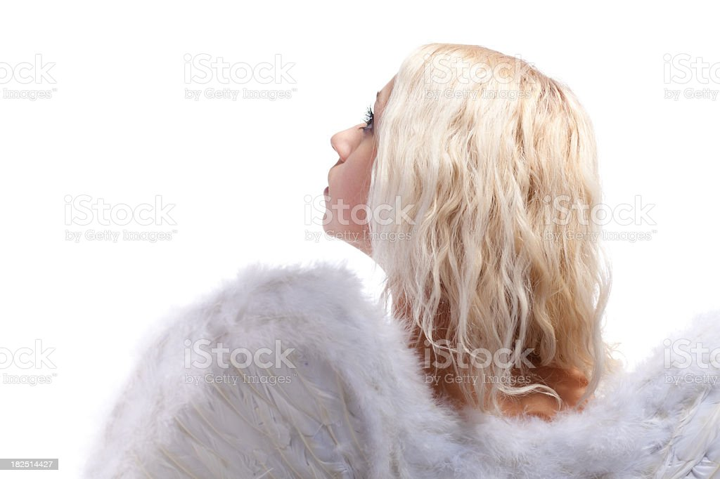 Light angel royalty-free stock photo