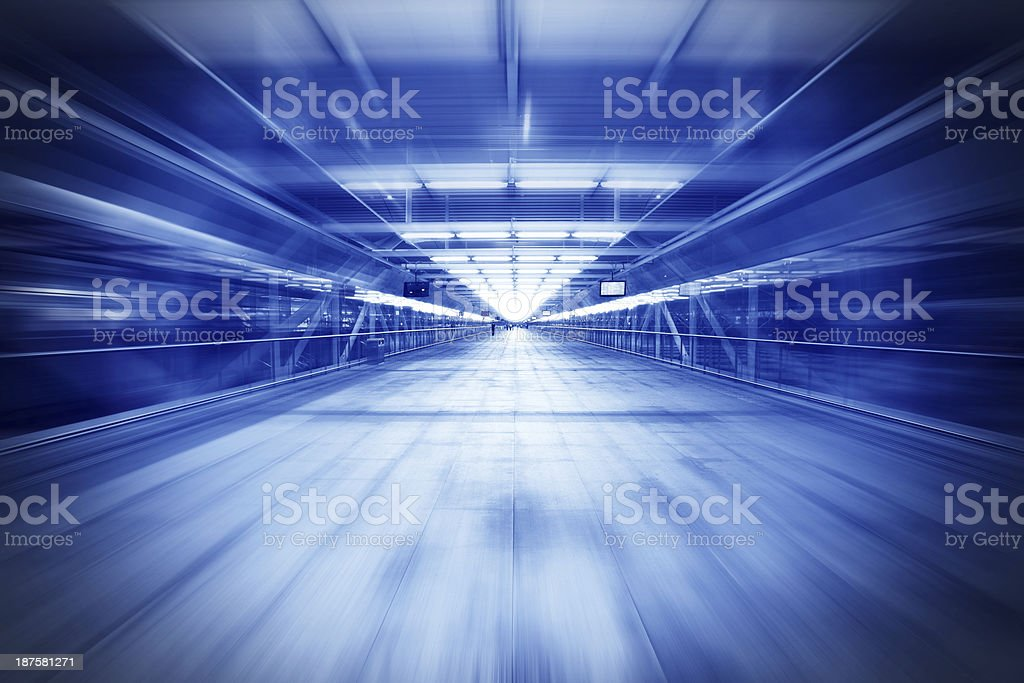 Light at End of Tunnel royalty-free stock photo