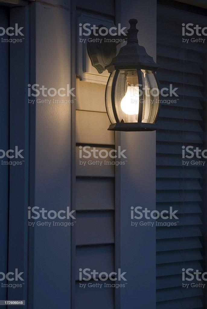 Light at Night. stock photo
