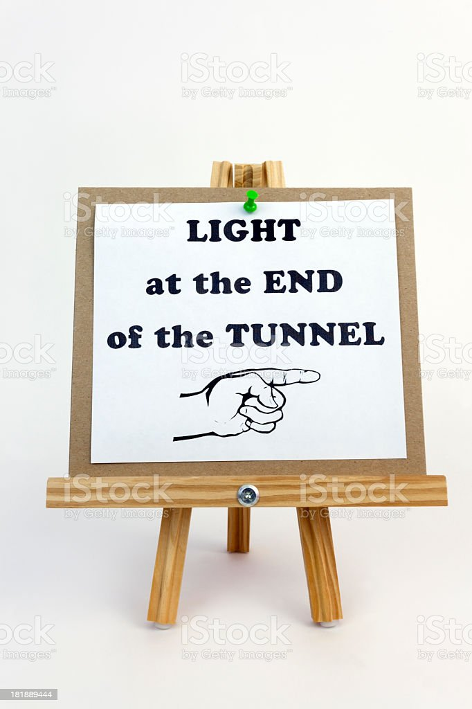Light at the End of royalty-free stock photo