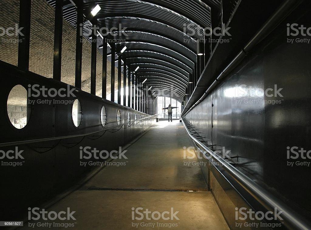 Lumière au bout du Tunnel photo libre de droits